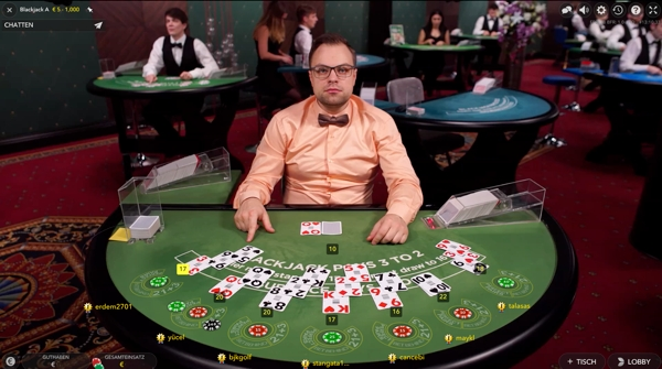 Multi-Player Blackjack online